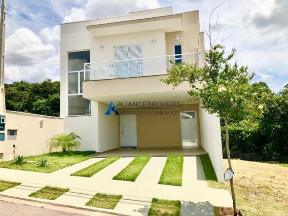 Casa Nova 3 Dormitórios, Área De 160 M², Cond. Reserva Da Mata, Estuda Permuta - Ca01750 - 34896767
