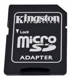 10 - Adaptador Cartao De Memoria Micro Sd Kingston/sandisk