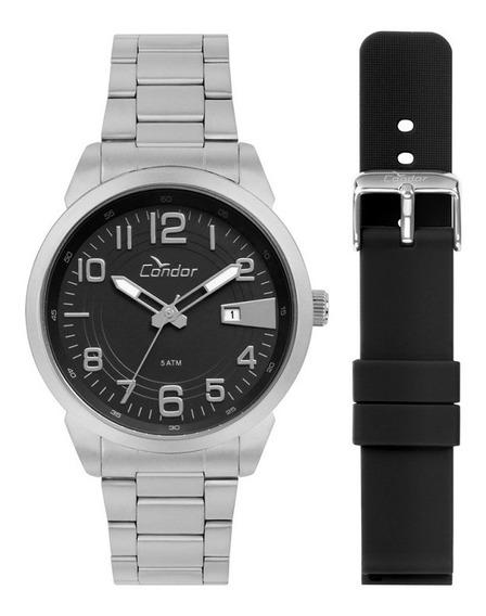 Relógio Condor Masculino Prata Co2115kto/t3p