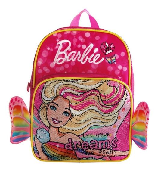 Mochila Espalda Jardin 12 PuLG Barbie #14032 Mundo Manias