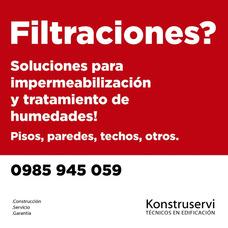 Solucion Humedades Y Filtraciones De Todo Tip