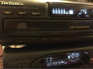Technics Minicomponente Japones Ch505 Permuto