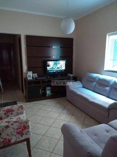 Cobertura Com 4 Dormitórios À Venda, 176 M² Por R$ 535.000,00 - Vila Valparaíso - Santo André/sp - Co0026