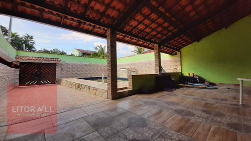 Imagem 1 de 21 de Casa Com Piscina,  2 Dormitórios À Venda, 125 M² Por R$ 410.000 - Jardim Suarão - Itanhaém/sp - Ca1811