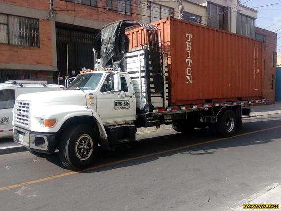 Camion Estacas Ford 7000