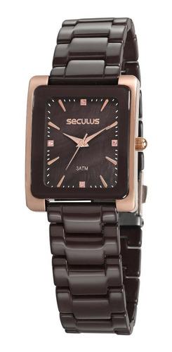 Relógio Seculus Feminino  20748lpsvrq3