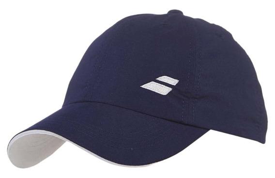 Gorra Adulto Tenis Babolat Basic Logo Cap Azul Blanca Rosada