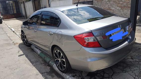 Honda Civic Lxs 2015 Automatico Completo