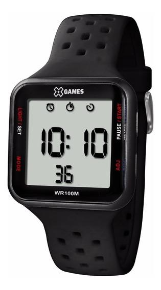 Relógio X-games Unissex Digital Xgppd090 Preto Quadrado