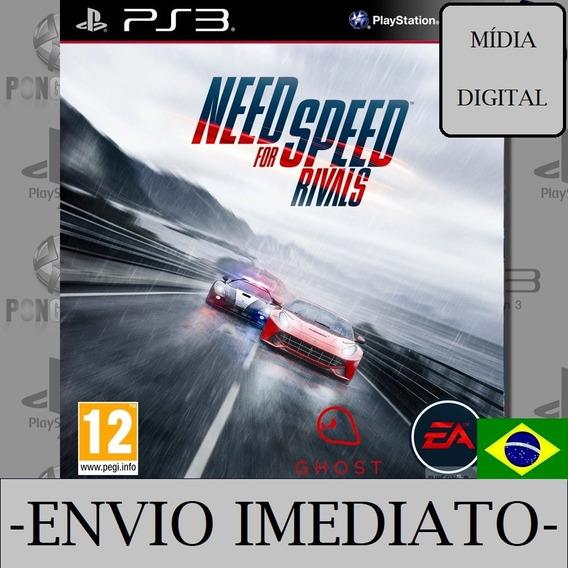 Need For Speed Rivals Ps3 Psn Mídia Digital Envio Imediato