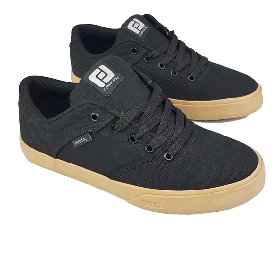 Tenis Freeday Flip Eco - Preto Natural
