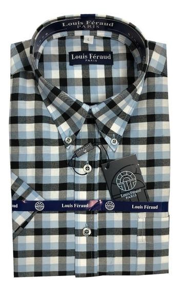Camisas De Cuadros Louis Feraud Manga Corta 102264