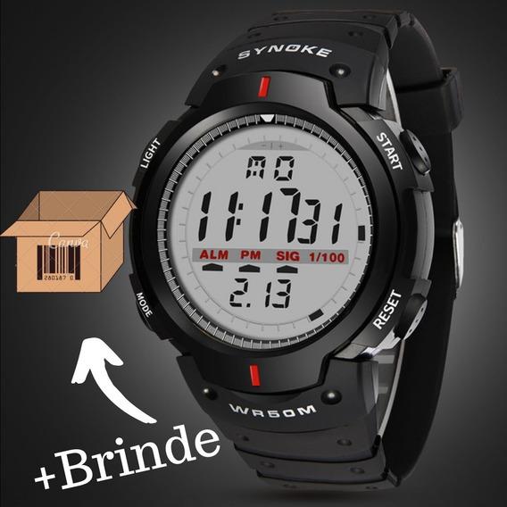 Relógio Masculino Synoke Wr50m Digital Pulso Promoção!