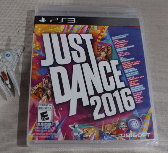 Just Dance 2016 Original [ Playstation 3 ] Midia Fisica Ps3 [iplay] Nao Vendemos Pirataria!!!