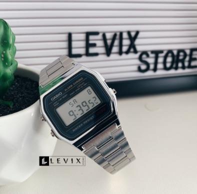 Relógio Casio A168 Prata Aço Masculino Feminino Novo Oferta