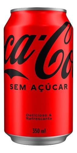 Imagem 1 de 1 de Refrigerante Coca-cola Zero Lata - 350ml