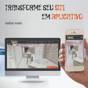 Transforme Site/loja Virtual Em App Publicado No Playstore