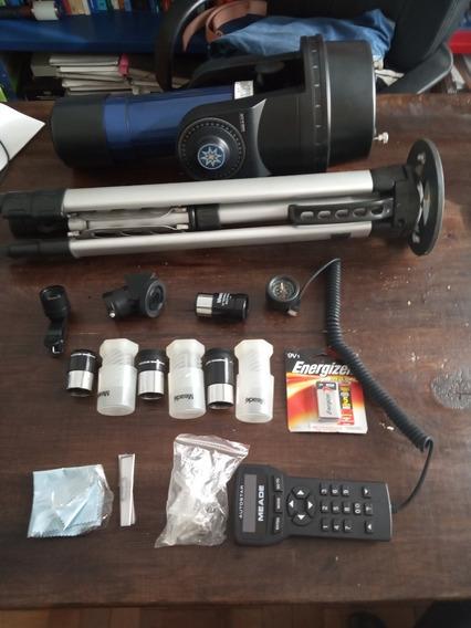 Telescópio Meade Etx 70mm, Com Mochila, Tripé, Três Peças...