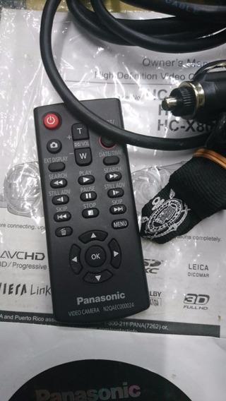 Acessorios Filmadora Panasonic Hc-x900m Hc-x800 Zerados