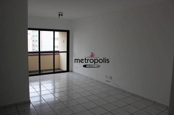 Apartamento Com 3 Dormitórios À Venda, 89 M² Por R$ 450.000 - Santo Antônio - São Caetano Do Sul/sp - Ap1475