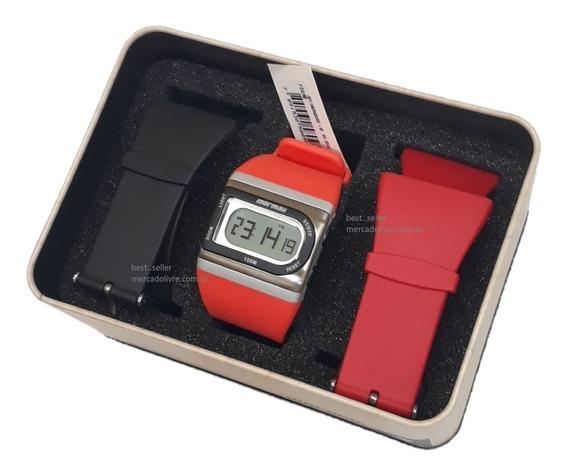 Relógio Mormaii Unissex Pulseiras Troca Pulseira Pronta Entr