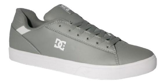 Tenis Hombre Calzado Adys100500-grw Gris/blanco Dc Shoes
