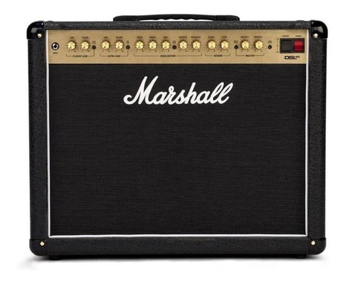 Amplificador Marshall Dsl40 Cr Cubo Guitarra 40w Novo