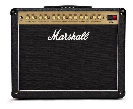 Amplificador Marshall DSL DSL40CR Valvular 40W