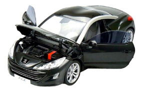 Miniatura Do Peugeot Rcz (2010) Norev Escala 1/18 Preto
