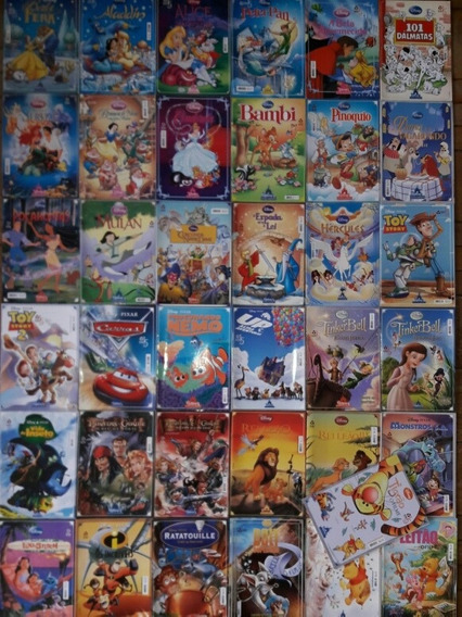 Clássicos Disney E Pixar Em Quadrinhos 44 Edições Completa