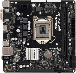 Motherboard Placa Madre Asrock H310cm Hdv S1151 Diginet