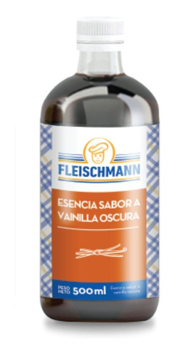 Esencia De Vainilla Oscura Fleischmann - 500 Ml