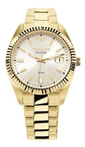 Relógio Technos Riviera Dourado 2115ktr/4k