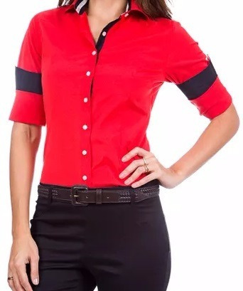 Camisa Social Feminina Slim Fit Noblemen