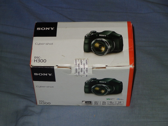 Câmera Digital Sony Cyber Shot Dsc H300 Praticamente Nova