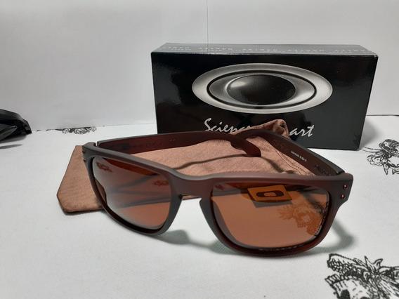 Oculos De Sol Holbrook Marrom Polarizado Oakley Feminino-masculino Utimas Unidades Desponiveis