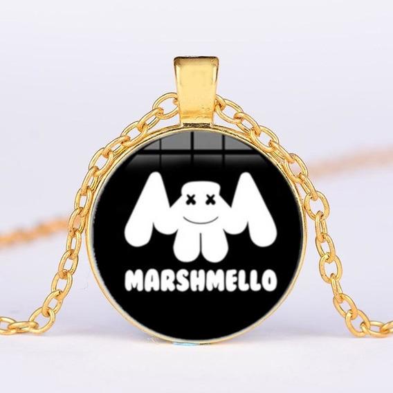 Hermoso Collar Dj Marshmello Música Electrónica Mellogang Om