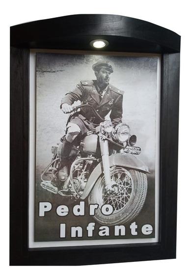 Cuadro Con Luz Led De Pedro Infante