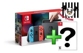 Nintendo Switch Mas Juego A Eleccion *nuevo* Stock