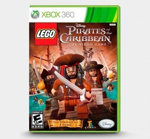 Lego Piratas Do Caribe - Xbox 360 Mídia Física