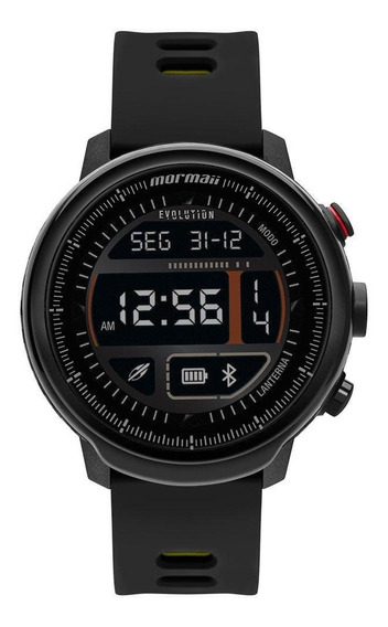 Smartwatch Mormaii Evolution Preto E Aml - Original