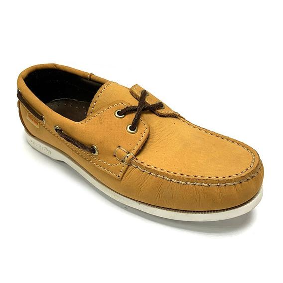 Zapatos Nauticos Pielsa Caballero Mostaza Pi 0003 Corpez 44