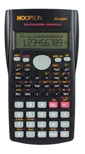 2 Calculadora Hoopson Cientifica Ps-82ms 12 Dig