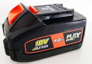 Bateria 18vcc - 4.0 Ah Flex One Dowen Pagio Bateria 18v 4 Ah
