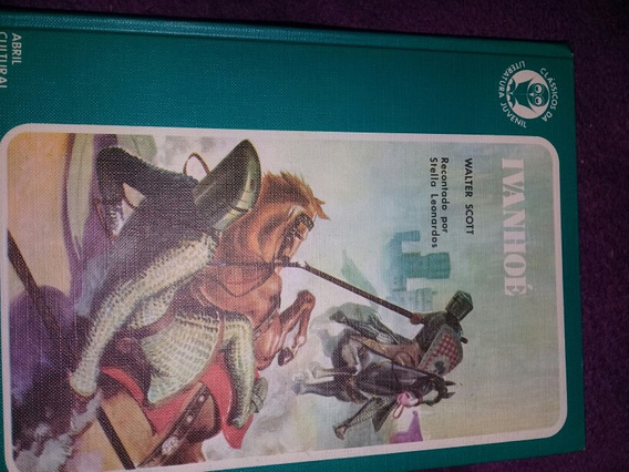 Classicos Da Literatura Juvenil Ivanhoé N° 17 Capa Dura
