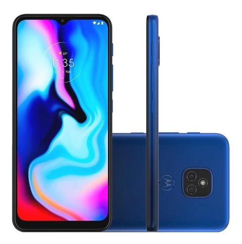 Celular Moto E7 Plus 64gb 4gb Ram Câm Dupla Tela 6.4 Azul