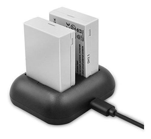 Imagen 1 de 8 de Bateria De Repuesto Lp-e8 Enegon (paquete De 2) Y Cargador D