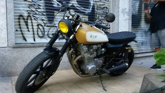 Kawasaki Sr 650 Brat Style, Street Tracker, No Cafe Racer