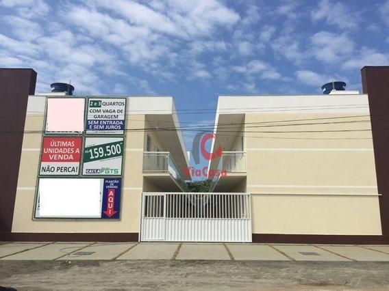 Apartamento, 2 Quartos, Peixe Dourado I - Barra De São João (casimiro De Abreu) - Distrito/rj - Ap1319