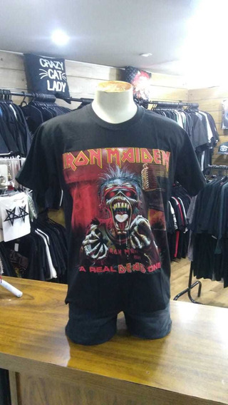 Camiseta Iron Maiden A Real Dead One Im002